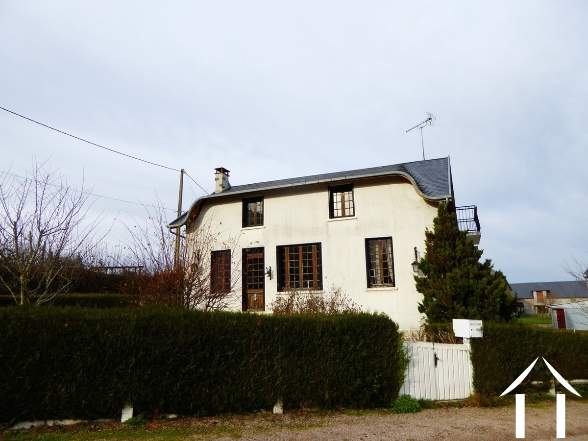 Spacious family house close to village