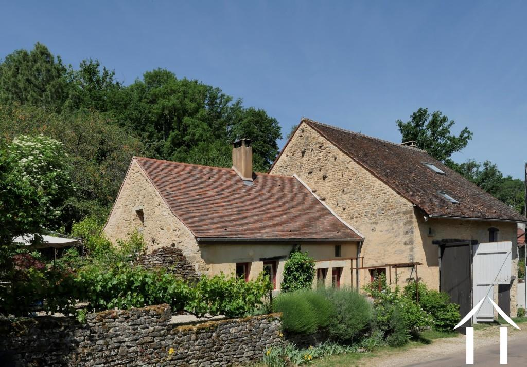 Charming 19th Century House + Barn Conversion with Views.